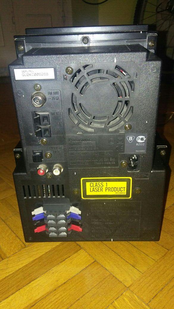 Minicadena Panasonic