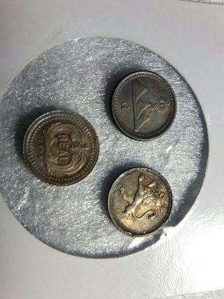 moneda 1/4 Real PLATA