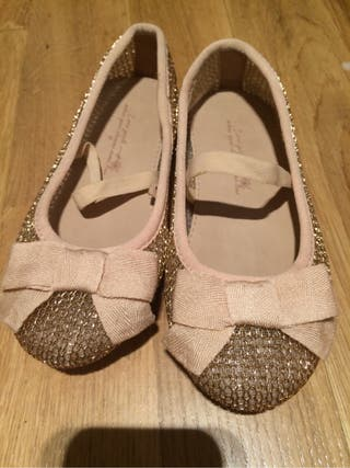De Zapatos Dorados Girls Qrwxpewpx Mano Por Segunda Zara Pup 5 A3RL45j