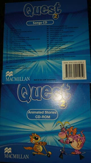 cd rom y song cd, quest 2