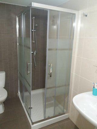 mampara de ducha de 1,20x80