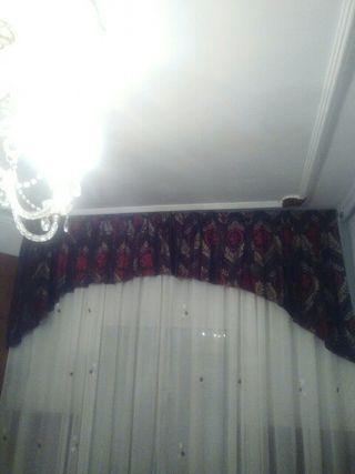 cortinas de comedor o habitación en buen estado