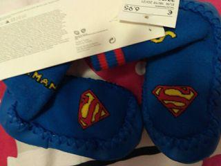 mocasines Superman para casa N22-23