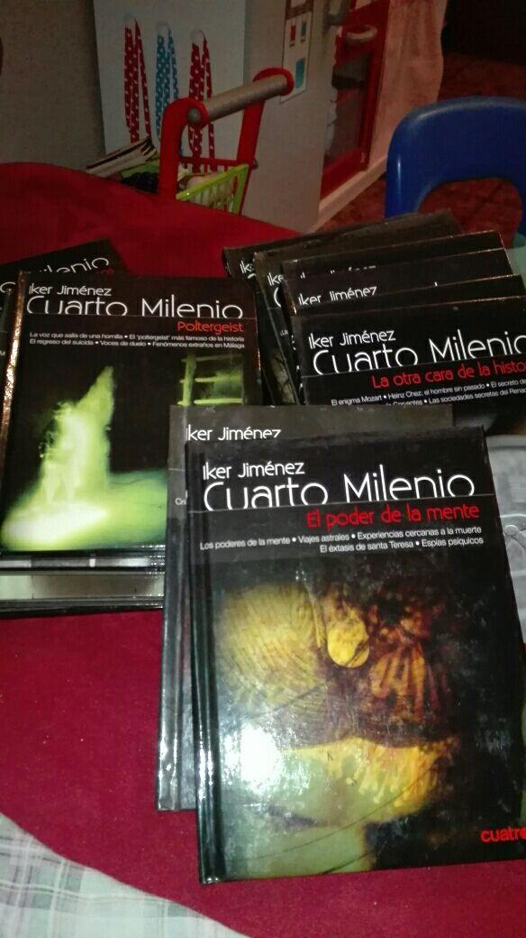 Libros con dvd.cuarto milenio de segunda mano por 30 € en ...
