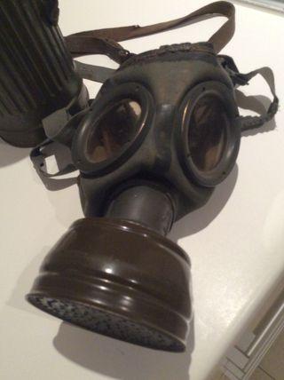 Mascara de gas 1/2 guerra mundial