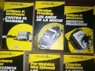 novelas Crimen & Cia