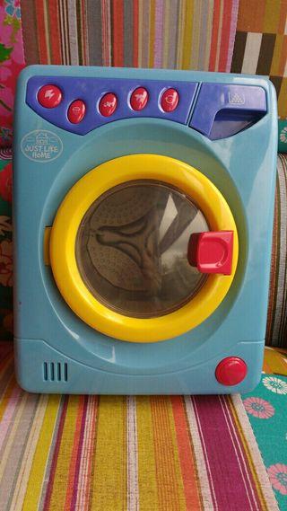 lavadora de juguete.