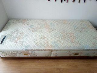 Base tapizada multielastic cama 190x90 cm. de flex