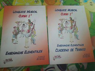 libro y cuadernillo lenguaje musical