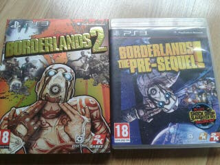 Borderlands 2 y Borderlands the Pre-Sequel Ps3