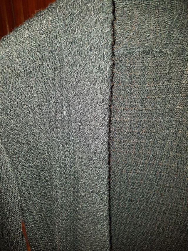 chaqueta larga punto
