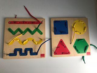 Juego de madera Goula (los 2)