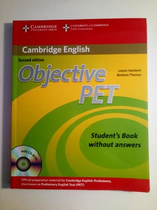 Libro Cambridge English. Objetive PET
