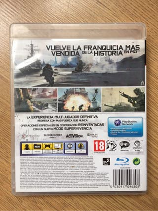 Call of duty MW3 para PS3