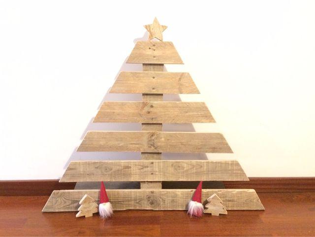 Arbol navidad madera de segunda mano por 20 en mollet del vall s en wallapop - Arboles de navidad de madera ...