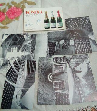 postales antiguas rondel