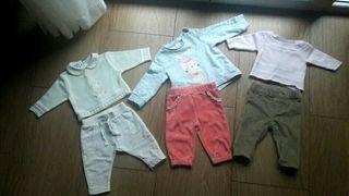 Lote Bebé Niña 3-6