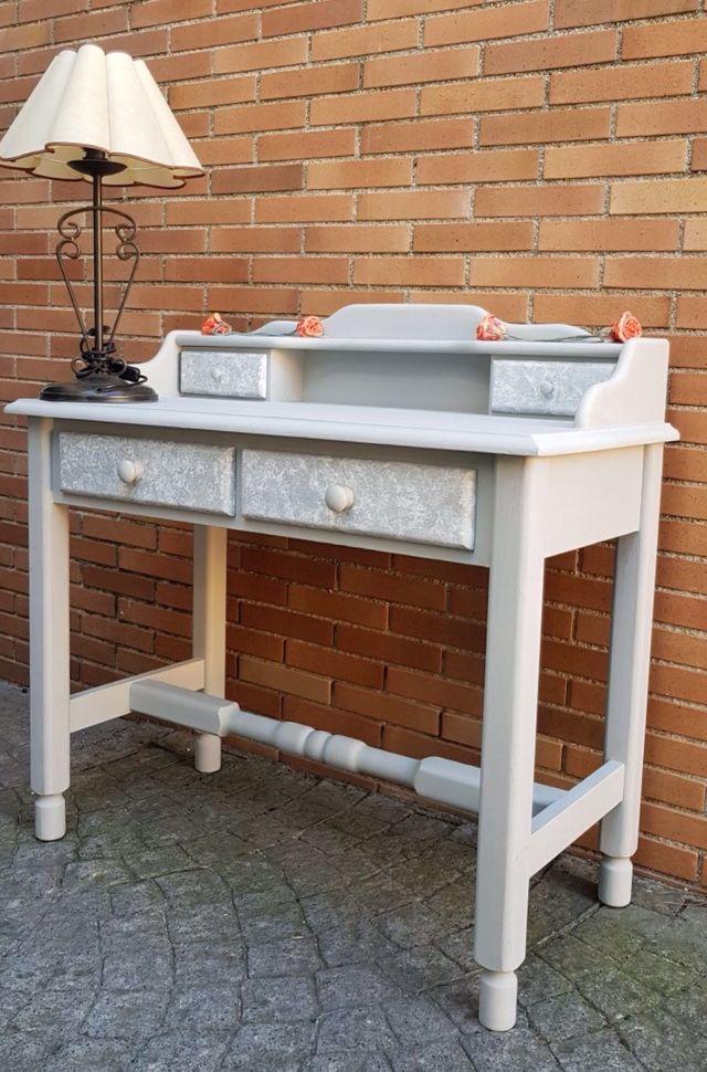 Mueble recibidor mueble tocador vintage de segunda mano - Recibidor segunda mano ...