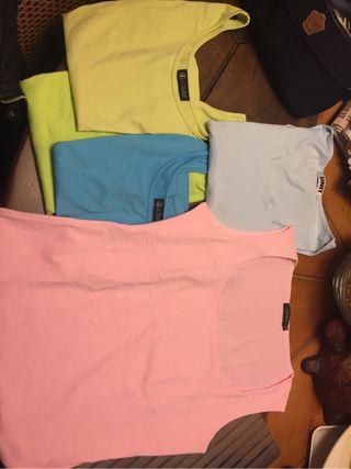 Camisetas sin manga