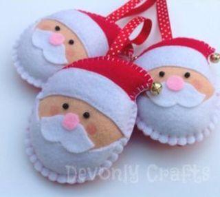 Navidad con fieltro