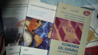 LIBROS DE ECONOMIA