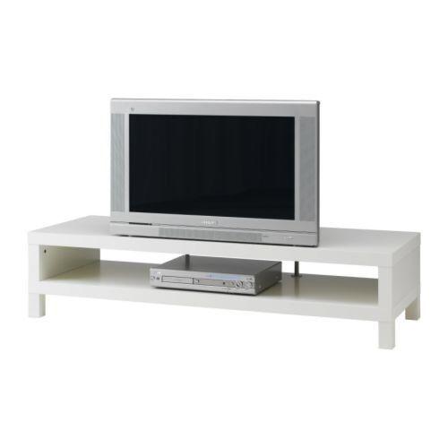 Mesa Tv Ikea Lack Blanco De Segunda Mano Por 20 En Barcelona En