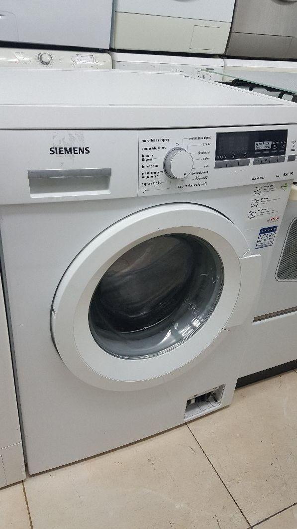 lavadora Siemens de 7 kilos.
