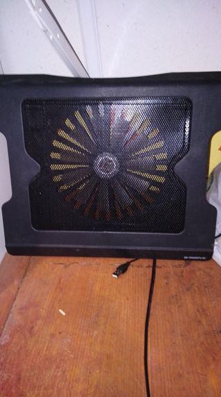 Ventilador para enfriar portátiles