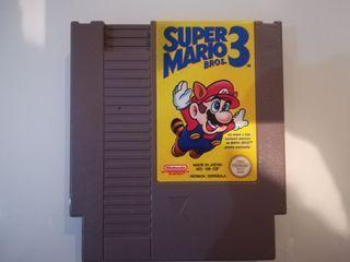 juego retro super Mario Bros 3