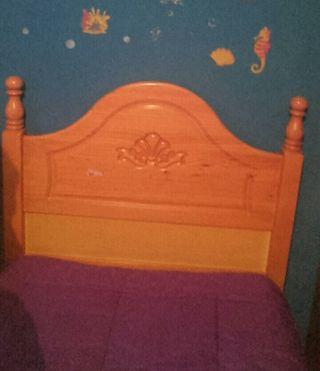 mueble infantil y cabecero