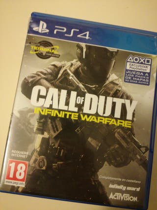 Videojuego PS4 Call of Duty. Infinity Warfare