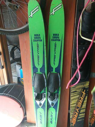 skis playa para peques