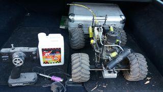 coche teledirigido de gasolina