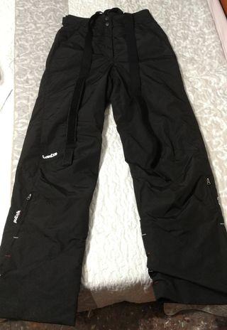 Pantalones mujer esquí/snowboard. Un solo uso