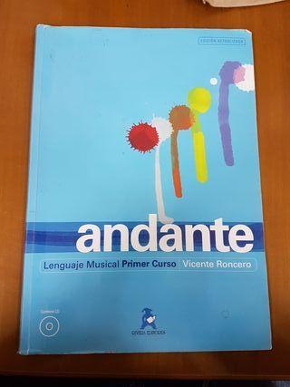 libro andante 1 de lenguaje musical
