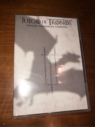 Dvd juego de tronos 3er tempor