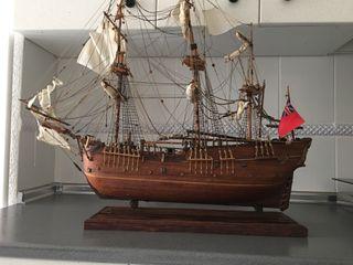 Maqueta barco antigua