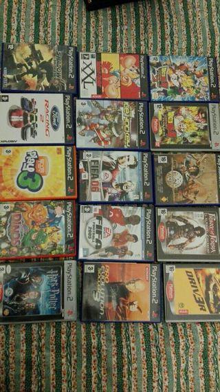 Pack 15 juegos PS2