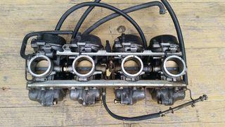 Bateria de carburadores suzuki gsx