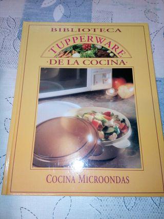 2 Libros cocina microondas