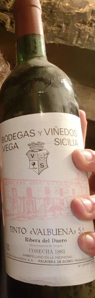 vino vega sicilia 1983