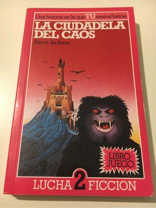 La ciudadela del Caos Lucha ficción libro juego