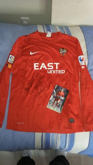 Camiseta futbol Levante match worn Jesus Fernandez