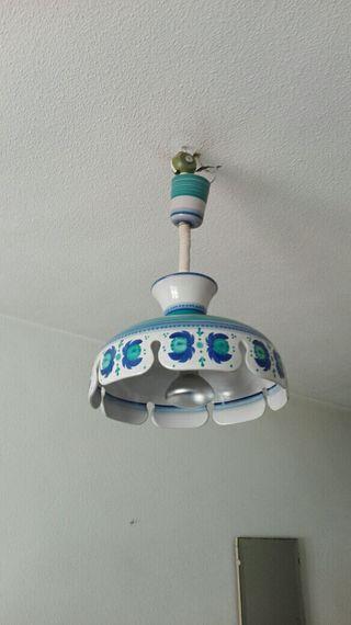lámpara de techo retro vintage Portaceli española