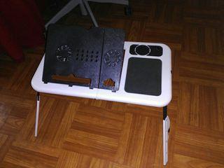 soporte para elevar portátil con ventiladores