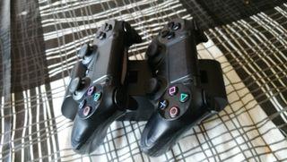 soporte cargador mandos play4