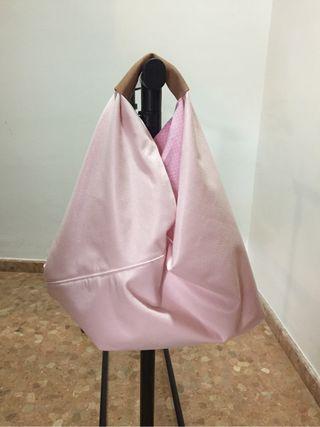 Bolso origami hecho a mano