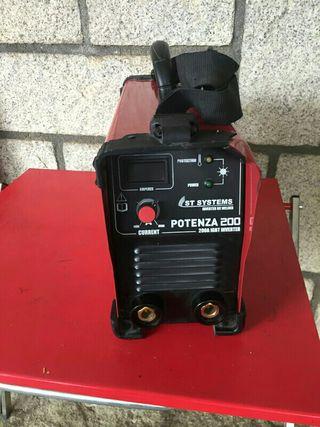 Soldador inverter ST sistem potenza 200