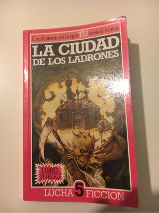 Libro juego La ciudad de los Ladrones Alfa Ficción