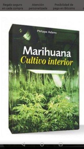 libro Marihuana cultivo interior grow shop